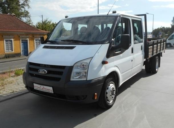 sold ford transit 115 cab dupla 7 carros usados para venda. Black Bedroom Furniture Sets. Home Design Ideas