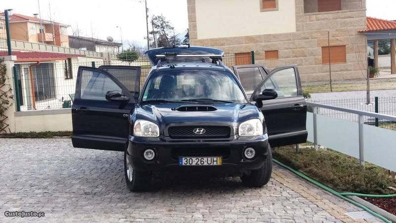 1/4 Usado Hyundai Santa Fe 2000 Crdi