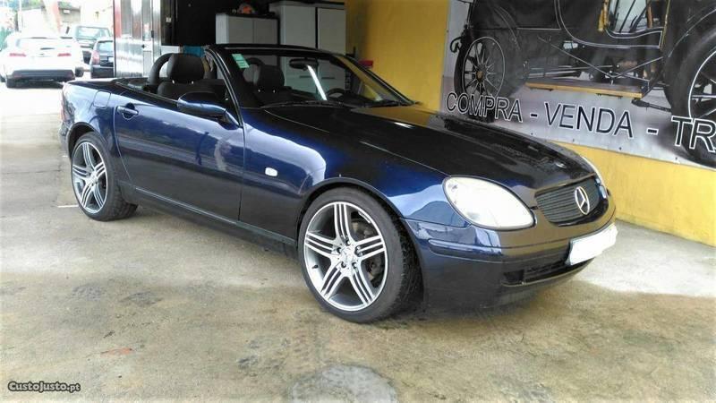 sold mercedes slk200 cabrio 99 carros usados para venda. Black Bedroom Furniture Sets. Home Design Ideas