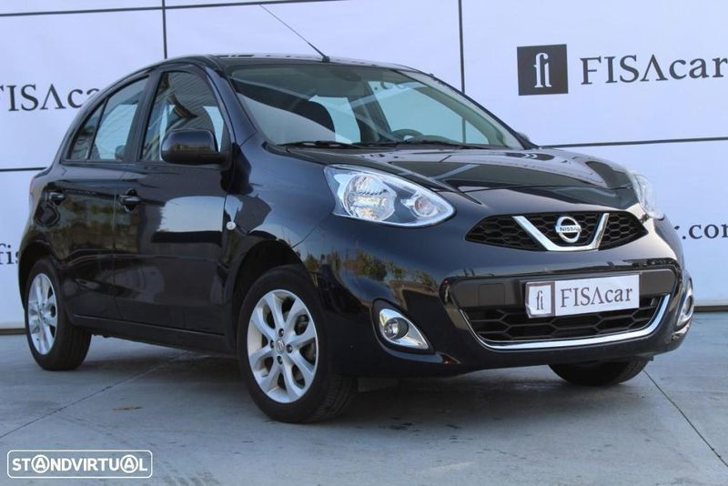 sold nissan micra acenta 1 2 80 cv carros usados para venda. Black Bedroom Furniture Sets. Home Design Ideas
