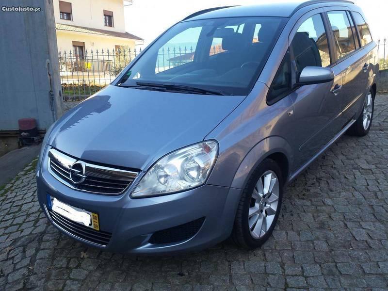 Sold Opel Zafira 7 Lugares 08 Carros Usados Para Venda