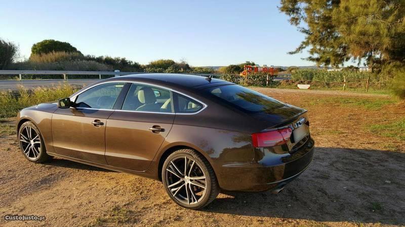 Audi a5 sportback usados para venda 1