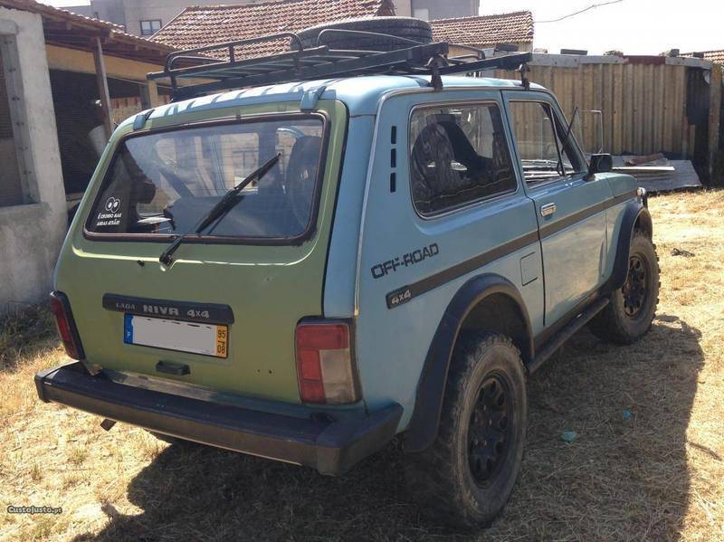 sold lada niva 1 9 diesel 4x4 95 carros usados para venda. Black Bedroom Furniture Sets. Home Design Ideas