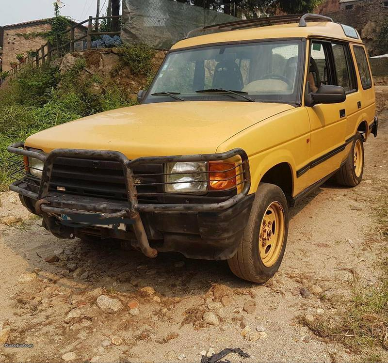 1997 Land Rover Discovery Interior: Sold Land Rover Discovery Camel Tr.