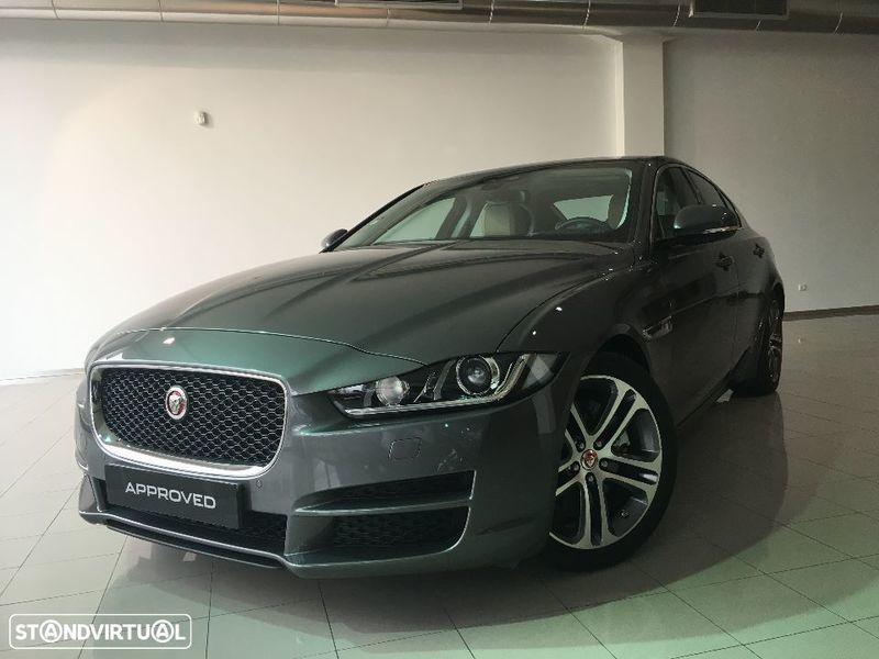 sold jaguar xe 2.0 d rwd prestige . - carros usados para venda