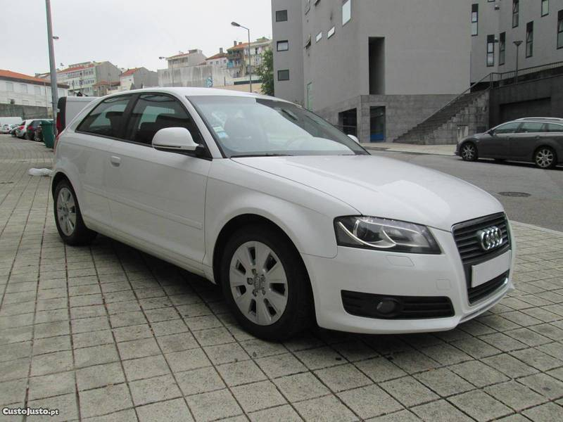 sold audi a3 1 9 tdi 105 cv sp 09 carros usados para venda. Black Bedroom Furniture Sets. Home Design Ideas
