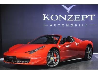 1/3 Usado Ferrari 458 Italia Spider (570cv) (2p)