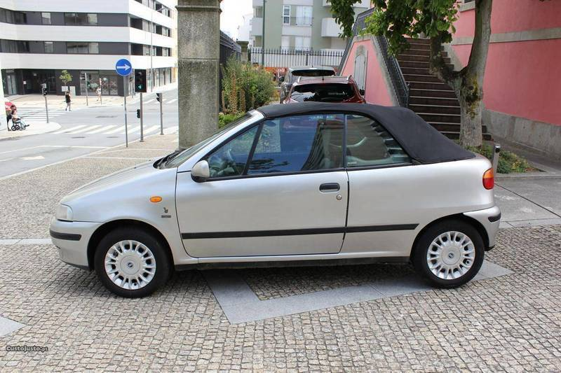 sold fiat punto cabriolet bertone carros usados para venda. Black Bedroom Furniture Sets. Home Design Ideas