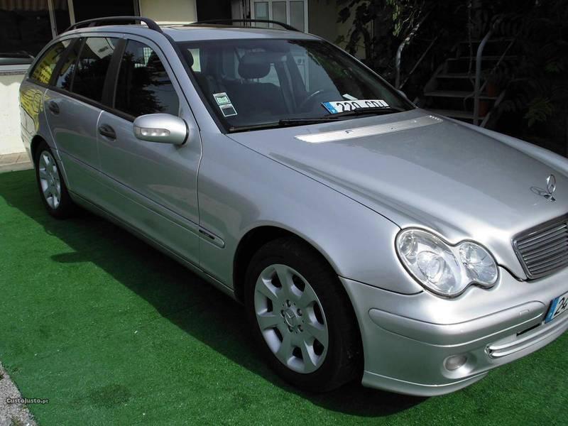 sold mercedes c220 sw cdi 143cv 20 carros usados para venda. Black Bedroom Furniture Sets. Home Design Ideas