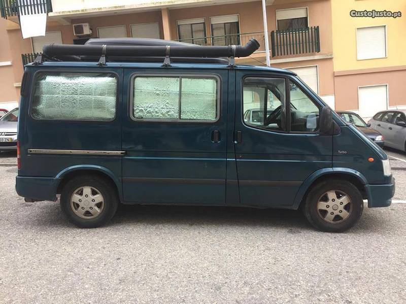 ▷ Usados 1996 Ford Transit 2 5 Diesel 1996 Almada - Laranjei