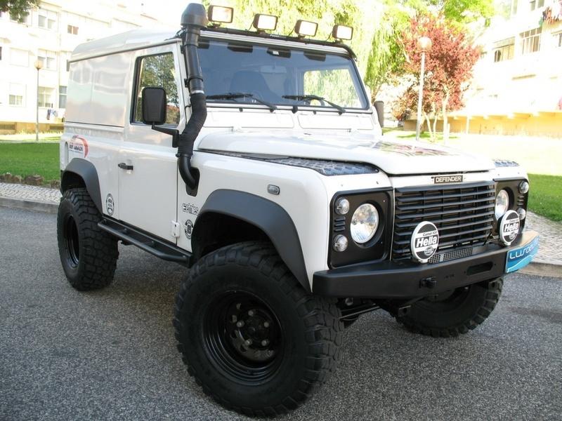 sold land rover defender 90 td5 me carros usados para venda. Black Bedroom Furniture Sets. Home Design Ideas