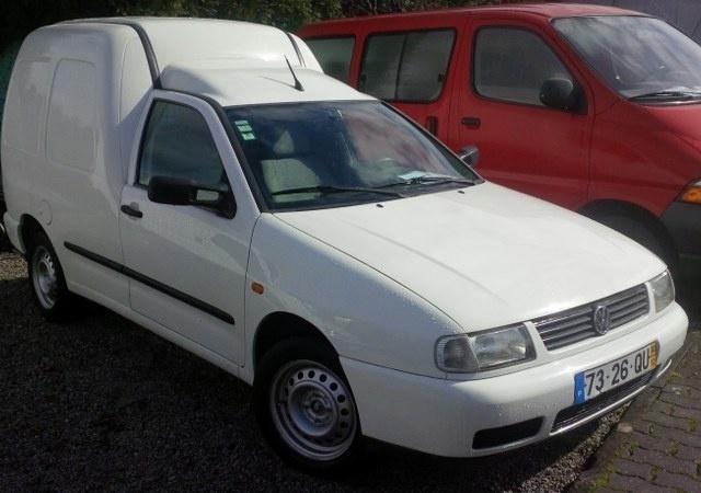 sold vw caddy 1 9 sdi - carros usados para venda