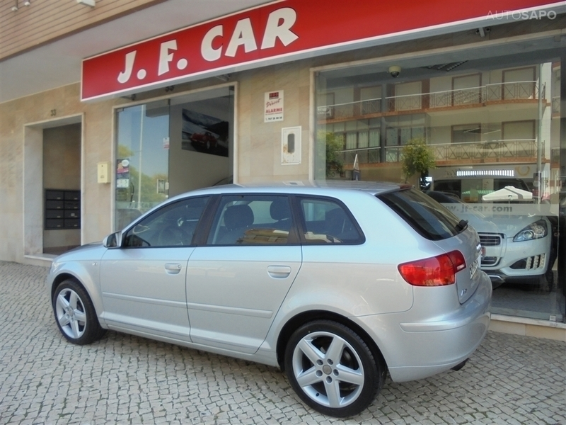 audi a3 1 9 tdi 105 cv sp 09 carros usados para venda autouncle. Black Bedroom Furniture Sets. Home Design Ideas