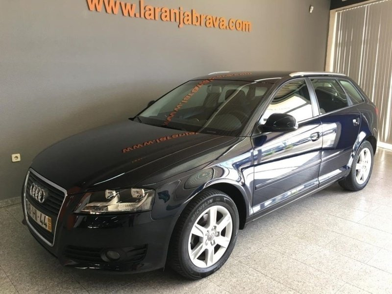 sold audi a3 sportback 1 9 tdi spo carros usados para venda. Black Bedroom Furniture Sets. Home Design Ideas
