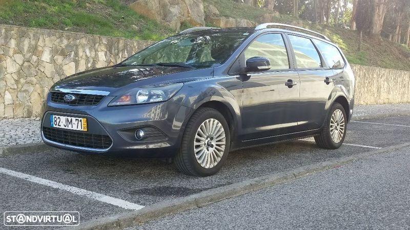 sold ford focus sw 2 0 tdci titani carros usados para venda. Black Bedroom Furniture Sets. Home Design Ideas