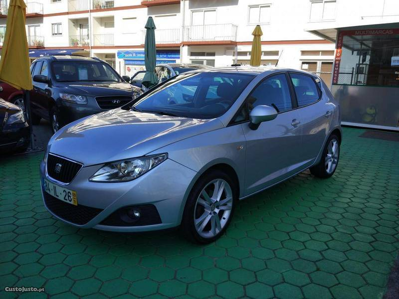 seat ibiza 1 6 tdi reference carros usados para venda autouncle. Black Bedroom Furniture Sets. Home Design Ideas