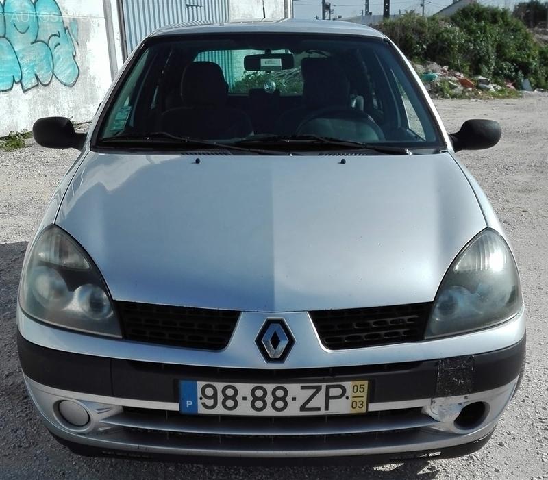 Renault Clio 2: Usados 2005 Renault Clio II 1.5 Diesel 2005 Benavente
