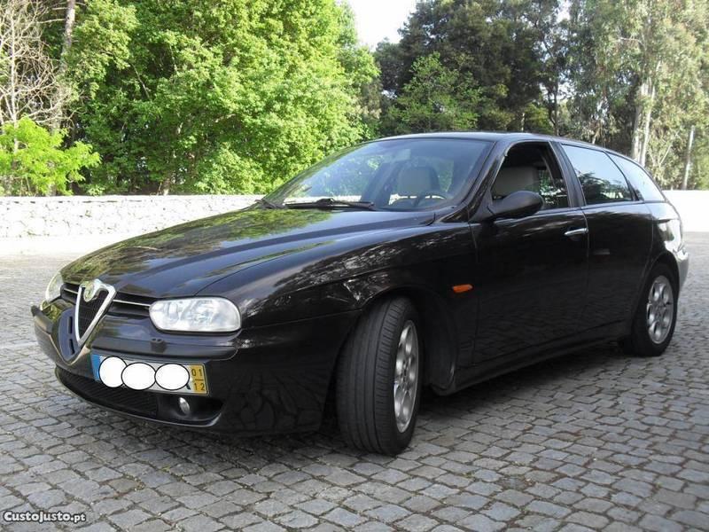 sold alfa romeo 156 1 9 jtd 115 cv carros usados para venda. Black Bedroom Furniture Sets. Home Design Ideas