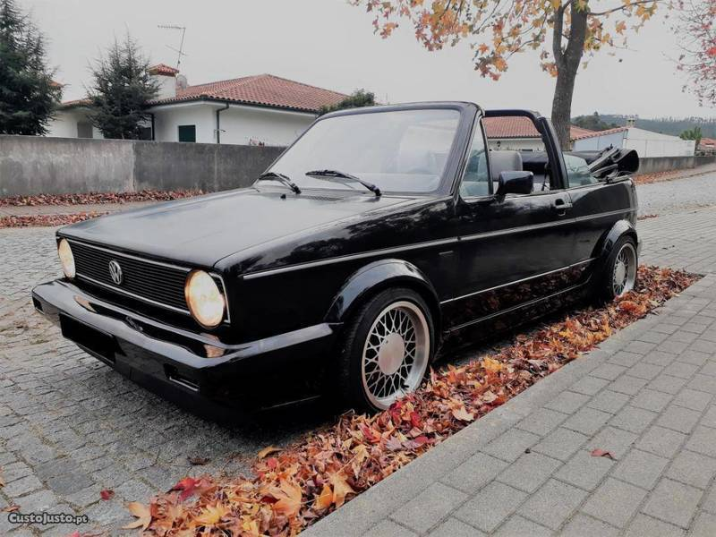 sold vw golf cabriolet mk1 karmann carros usados para venda. Black Bedroom Furniture Sets. Home Design Ideas