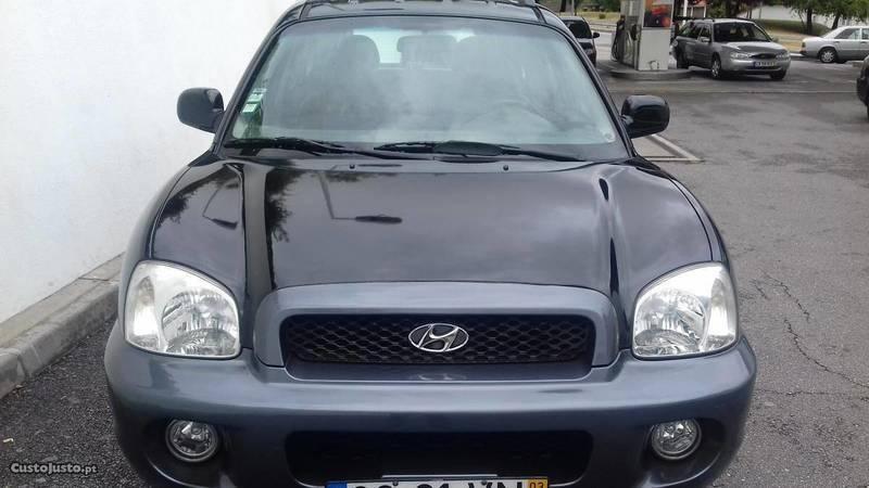 ... Usado Hyundai Santa Fe 2000 CRDI 4WD 125 CV