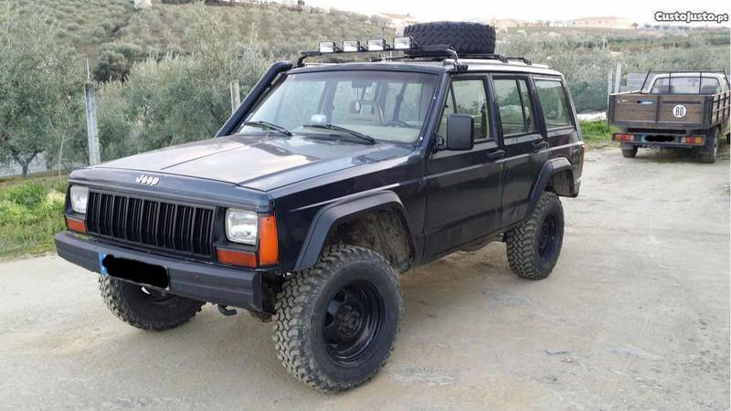 sold jeep cherokee xj 2 1 td 90 carros usados para venda. Black Bedroom Furniture Sets. Home Design Ideas