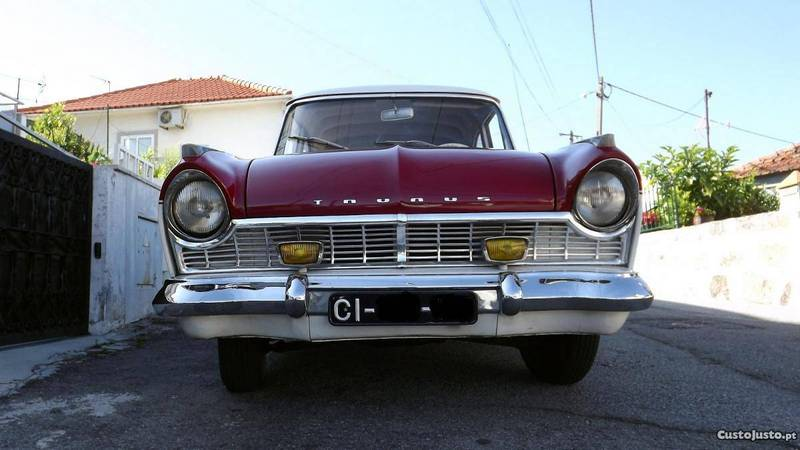 sold ford taunus 17m p2 1959 carros usados para venda. Black Bedroom Furniture Sets. Home Design Ideas