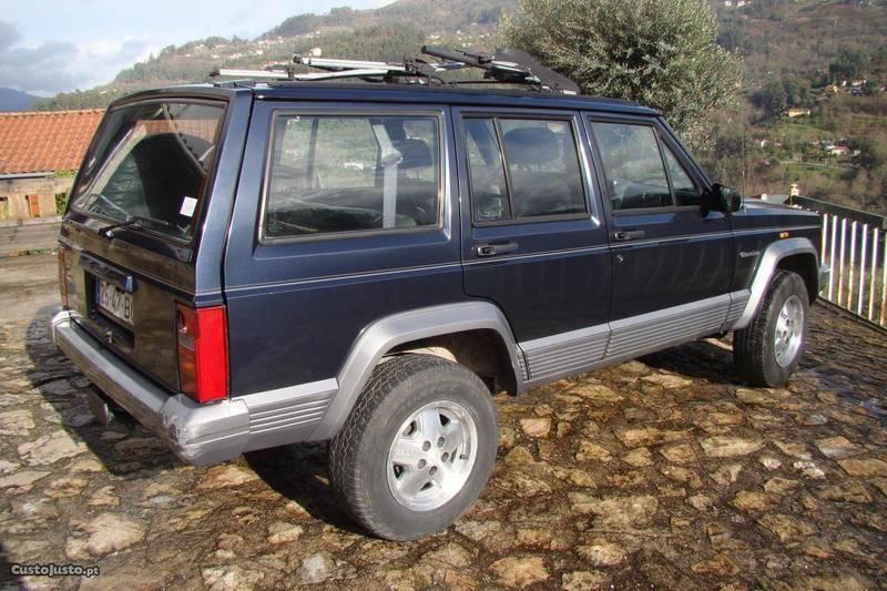 sold jeep cherokee 2 1 td full ext carros usados para venda. Black Bedroom Furniture Sets. Home Design Ideas