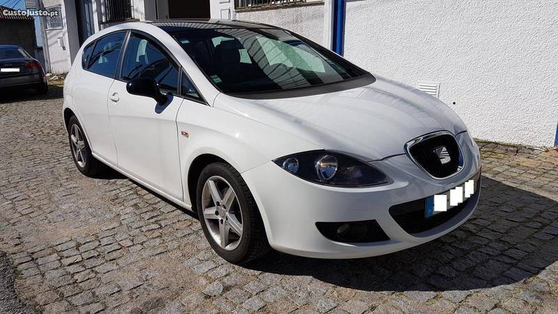 seat leon 1 9 tdi 105 cv 08 carros usados para venda autouncle. Black Bedroom Furniture Sets. Home Design Ideas