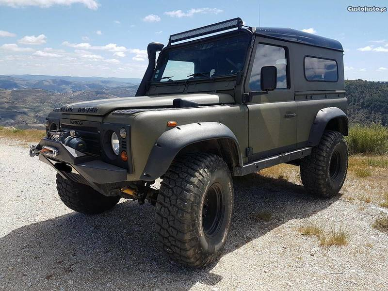 sold land rover defender 90 td5 carros usados para venda. Black Bedroom Furniture Sets. Home Design Ideas
