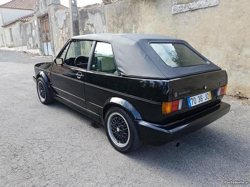sold vw golf cabriolet mk1 1 8 gti carros usados para venda. Black Bedroom Furniture Sets. Home Design Ideas