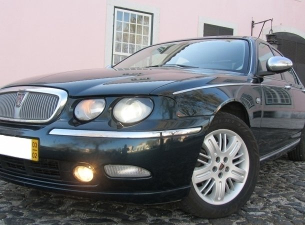 Sold Rover 75 2.0 CDTI 135 Connois. - Carros usados para venda