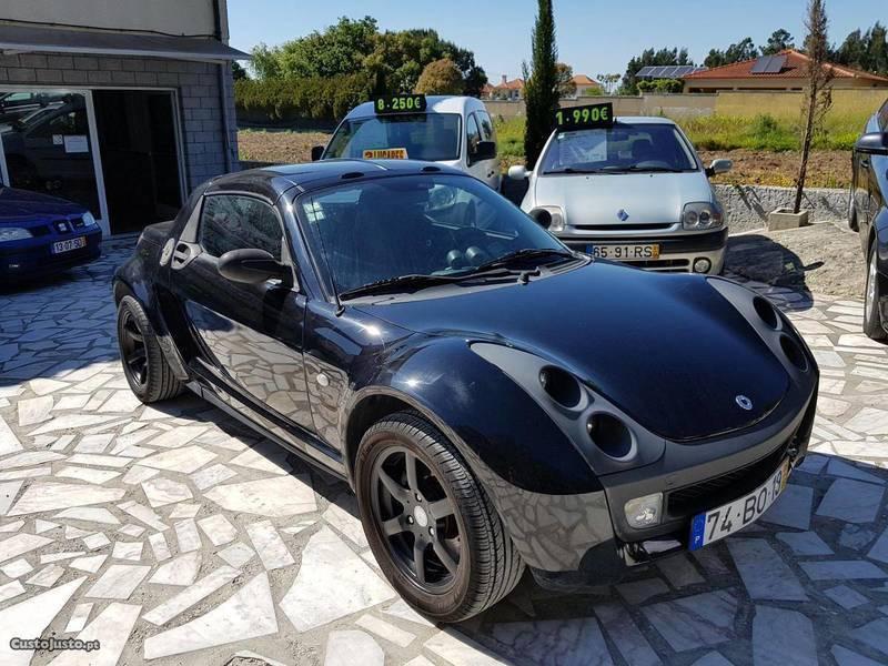 sold smart roadster cabrio 82cv au carros usados para venda. Black Bedroom Furniture Sets. Home Design Ideas