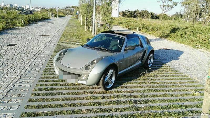 sold smart roadster coupe cabrio 8 carros usados para venda. Black Bedroom Furniture Sets. Home Design Ideas