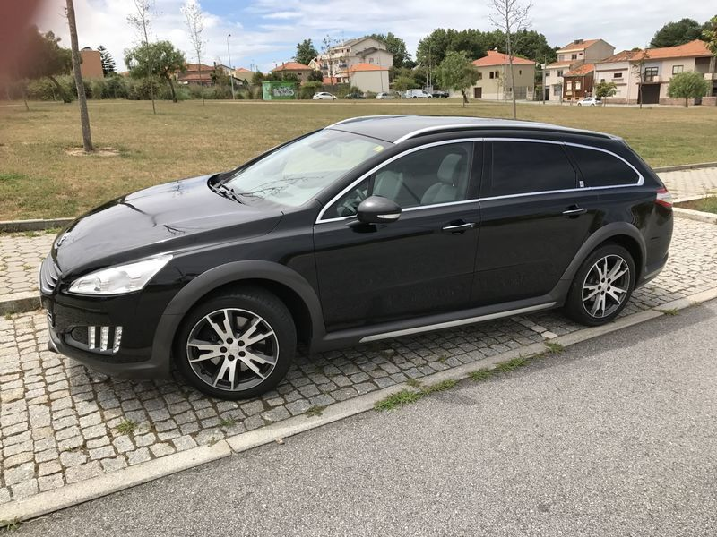 sold peugeot 508 rxh hybrid4 carros usados para venda autouncle. Black Bedroom Furniture Sets. Home Design Ideas
