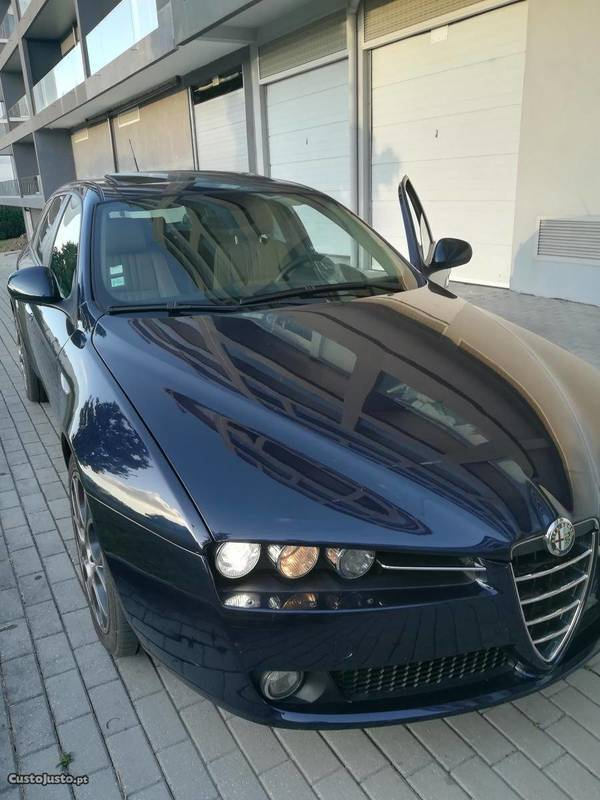 sold alfa romeo 159 2 4 jtd 200 carros usados para venda. Black Bedroom Furniture Sets. Home Design Ideas