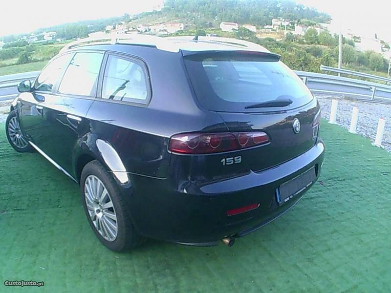 sold alfa romeo 159 sw jtdm 150 cv carros usados para venda. Black Bedroom Furniture Sets. Home Design Ideas