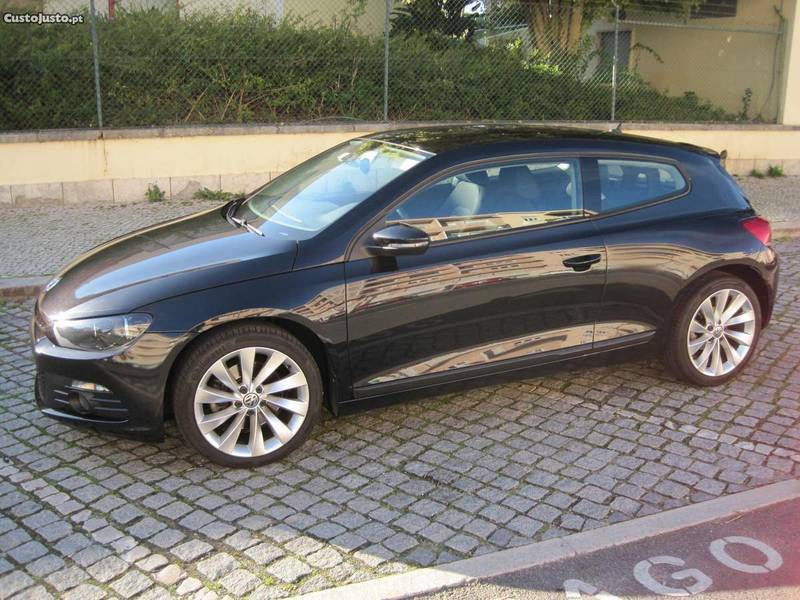 sold vw scirocco 1 4 tsi sport 160 carros usados para venda. Black Bedroom Furniture Sets. Home Design Ideas