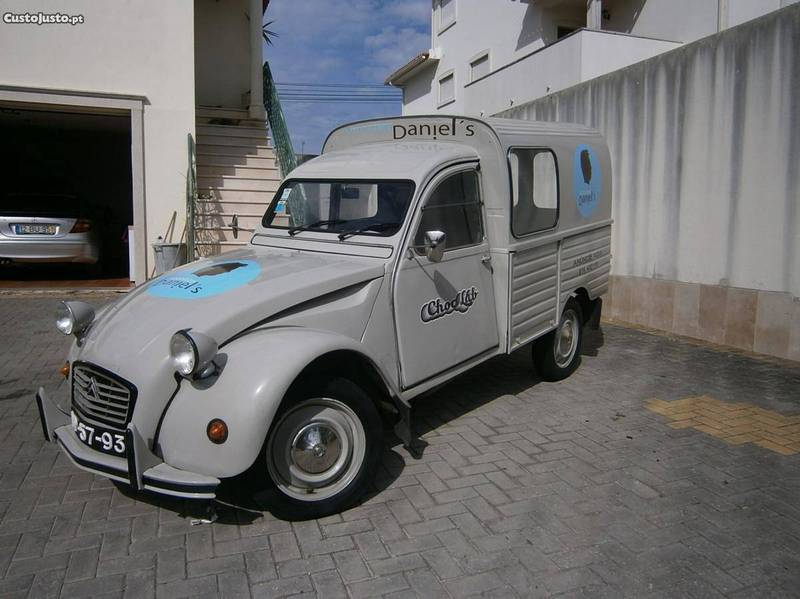 Citroen 2cv para venda em portugal for Garage comos sauvian occasion