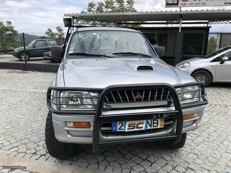Usado Mitsubishi L200 Caixa De Madeira