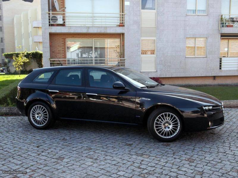 alfa romeo 159 sw 1 9 jtdm 16v carros usados para venda. Black Bedroom Furniture Sets. Home Design Ideas