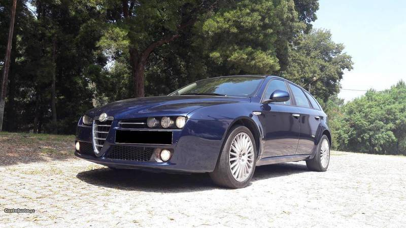 sold alfa romeo 159 1 9 jtd sw 150 carros usados para venda. Black Bedroom Furniture Sets. Home Design Ideas