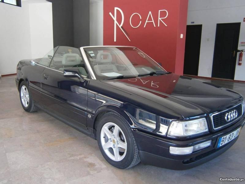 sold audi 80 cabrio 1 9 tdi 95 carros usados para venda. Black Bedroom Furniture Sets. Home Design Ideas