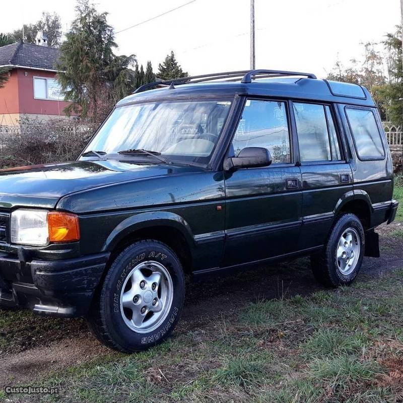 98 Land Rover Discovery: Sold Land Rover Discovery 2.5