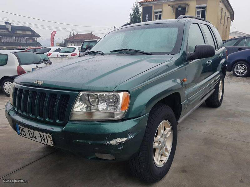 Usado Jeep Grand Cherokee 3.1 Td Limited   99