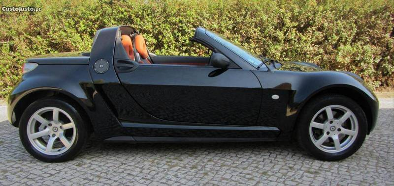 sold smart roadster turbo 82cv i carros usados para venda. Black Bedroom Furniture Sets. Home Design Ideas