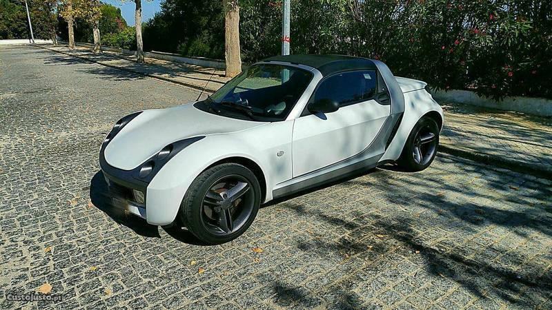 sold smart roadster 82cv turbo cab carros usados para venda. Black Bedroom Furniture Sets. Home Design Ideas