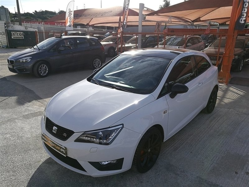 sold seat ibiza 1 6 tdi fr navig carros usados para venda. Black Bedroom Furniture Sets. Home Design Ideas