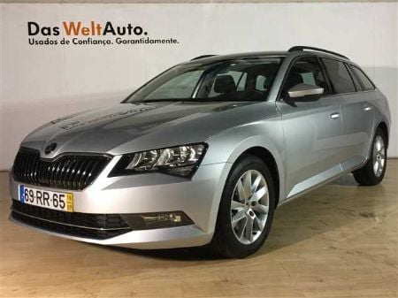 sold skoda superb break 1 6 tdi am carros usados para venda. Black Bedroom Furniture Sets. Home Design Ideas