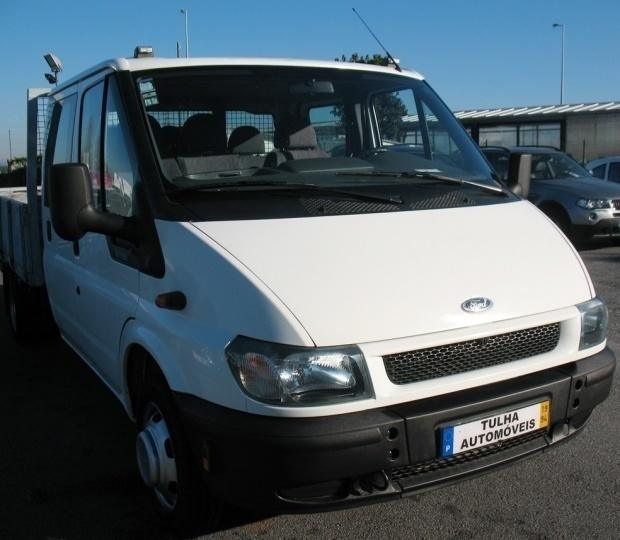 sold ford transit 115 t350 di cab carros usados para venda. Black Bedroom Furniture Sets. Home Design Ideas