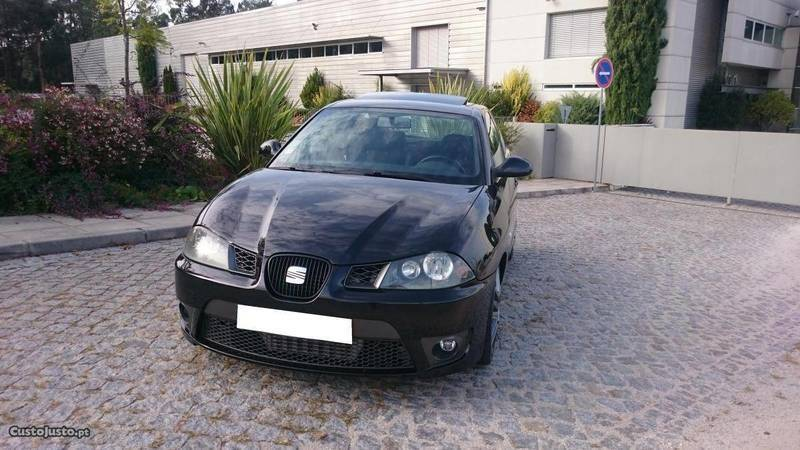 sold seat ibiza cupra 1 9 tdi 160c carros usados para venda. Black Bedroom Furniture Sets. Home Design Ideas